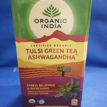 Tulsi,green tea, ashwagandha